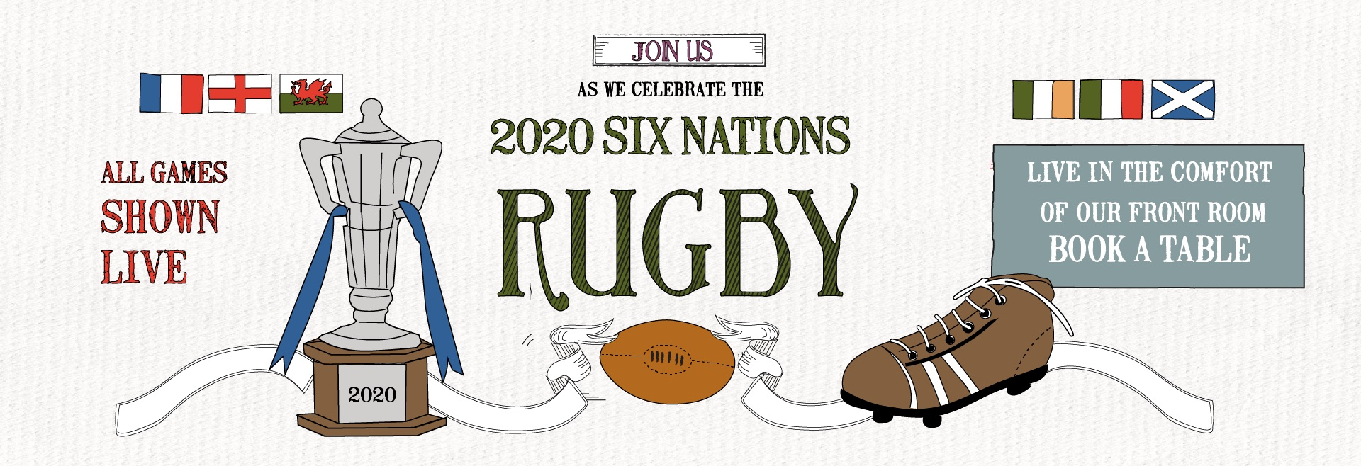 Six Nations at The Plough on the Moor