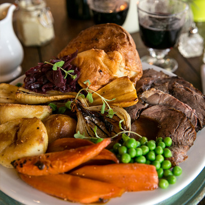 Quality Sunday food at The Plough on the Moor
