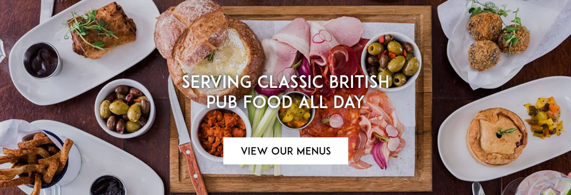 View our Menu at The Plough on the Moor