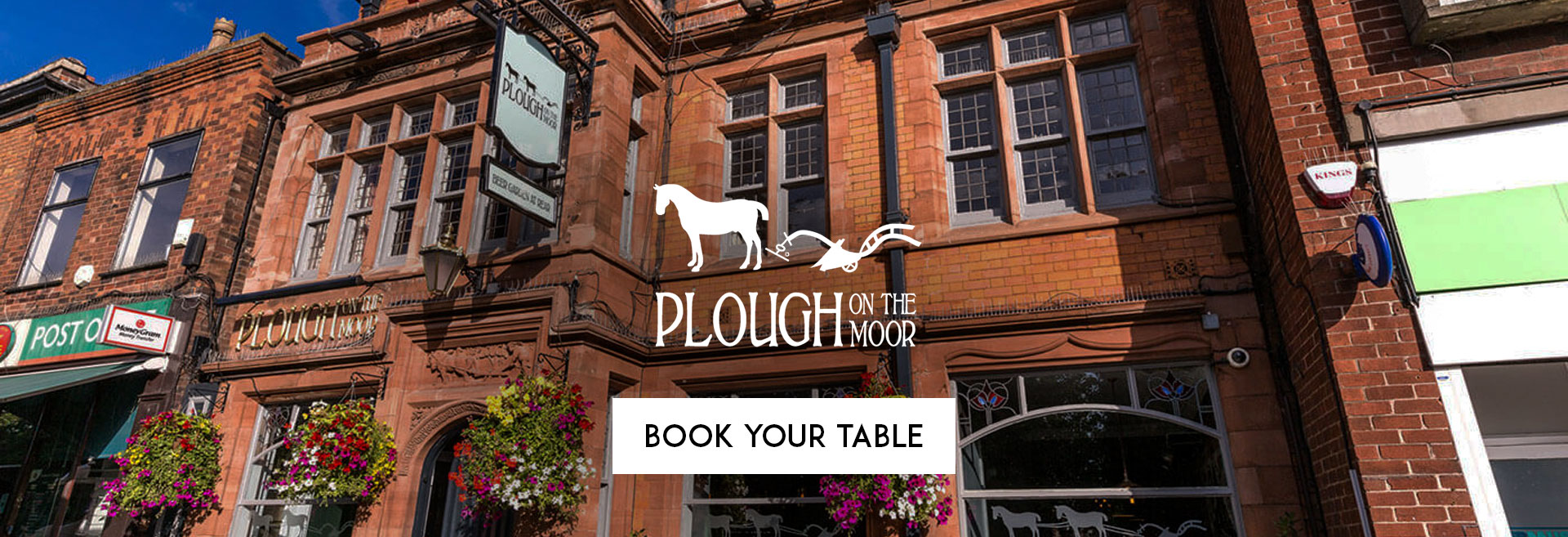 Book Your Table at The Plough on the Moor